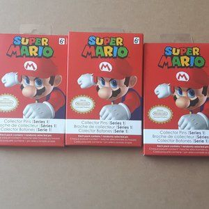 Super Mario Collector Pins Series 1 LOT
